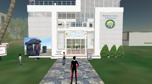The Nebraska Library Commission's Second Life home